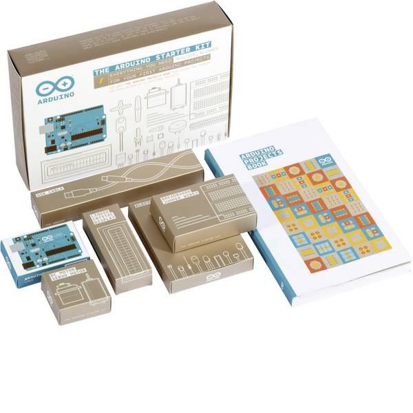 Kit e schede microcontroller MCU - Starter Kit Arduino AG UNO Starter Kit (English) in Inglese -