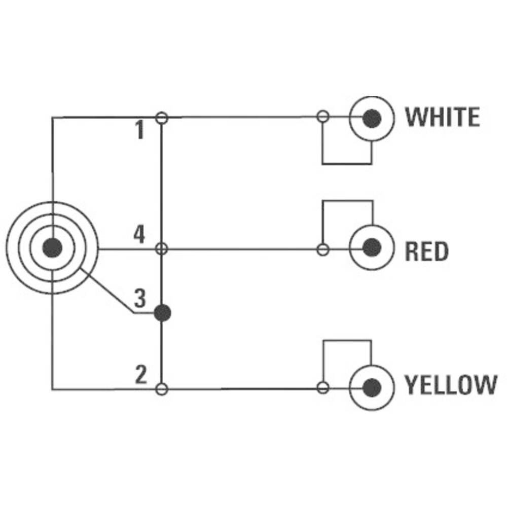 Schema Elettrico Jack 3 5 : Cavo di collegamento av jack rca composite [1x spina jack da 3.5
