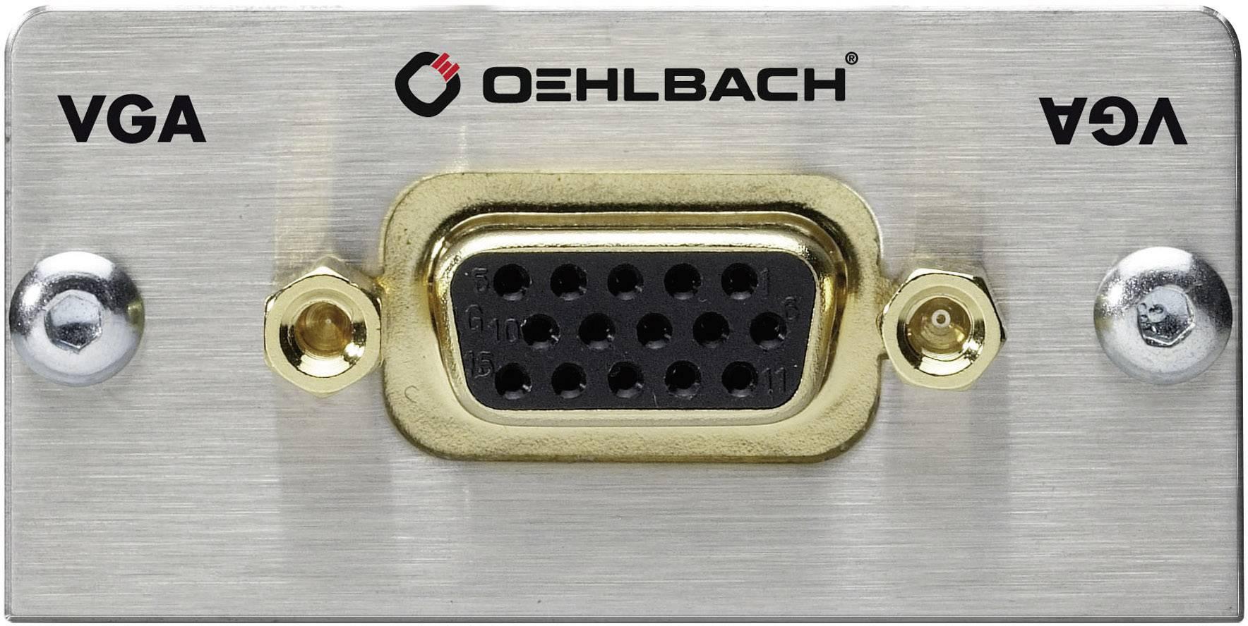 Inserto multimedia VGA con cavo adattatore Oehlbach PRO IN MMT-C VGA