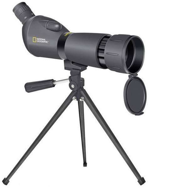 Cannocchiali - Cannocchiale digitale National Geographic Spotting Scope 20- 60 x 60 mm Nero -