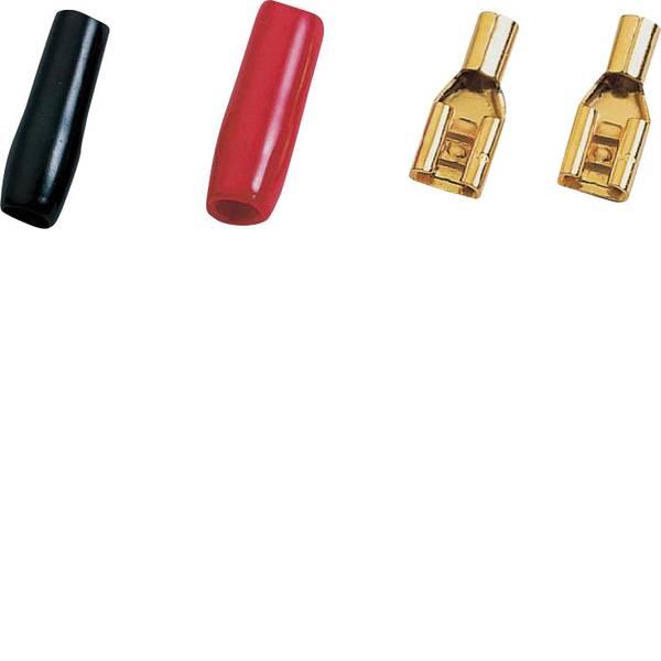 Cavi e accessori per altoparlanti HiFi per auto - Kit spine per altoparlanti HiFi per auto 1 x 2.5 mm² Sinuslive placcato oro -