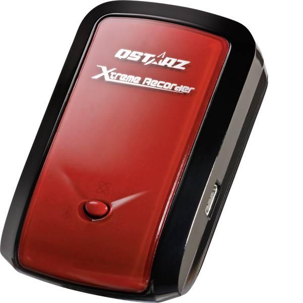Tracker GPS - Qstarz BT-Q1000ex 10Hz Registratore GPS (Logger) Rosso Nero -