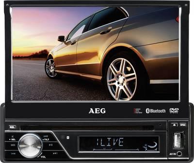 AEG AR4026DVD Moniceiver Telecomando incl., Collegamento per telecamera posteriore, Vivavoce Bluetooth®