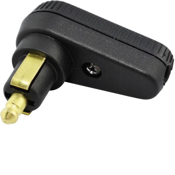 Accessori per presa accendisigari - BAAS Spina angolata DIN BA12 Portata massima corrente=8 A Adatto per Prese standard -