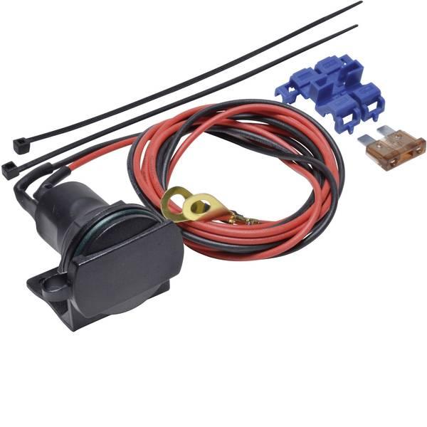 Accessori per presa accendisigari - BAAS Presa accendisigari con supporto ZA01 Portata massima corrente=5 A Adatto per Spina accendisigari -