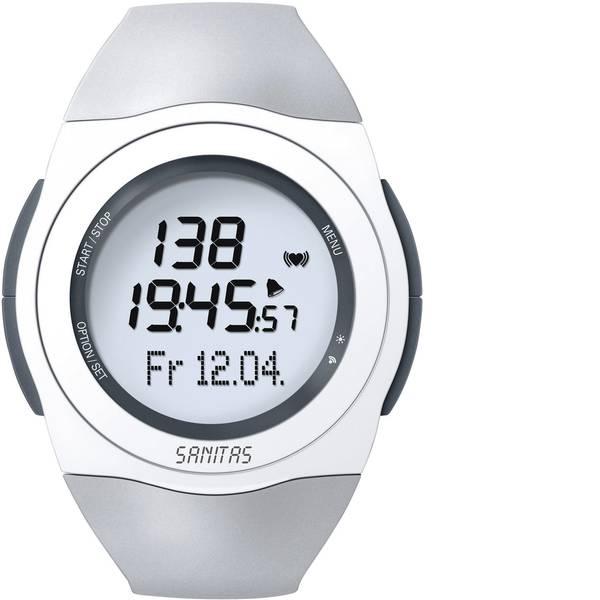Dispositivi indossabili - Sanitas SPM-25 Cardiofrequenzimetro con fascia toracica Grigio e bianco -