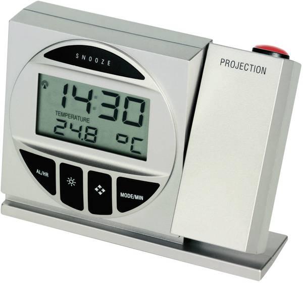Orologi a proiezione - TFA 98.1009 98.1009 Radiocontrollato Orologio proiettore digitale Argento -