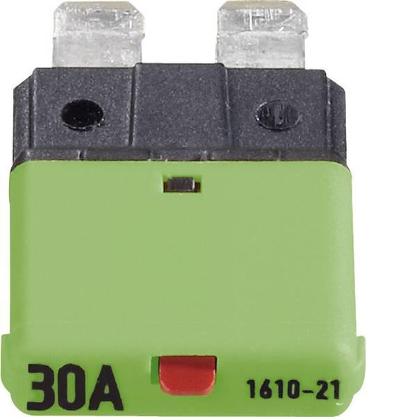 Fusibili per auto - Interruttore automatico fusibile piatto standard 30 A Verde 1610 CE1610-21-30A 1 pz. -