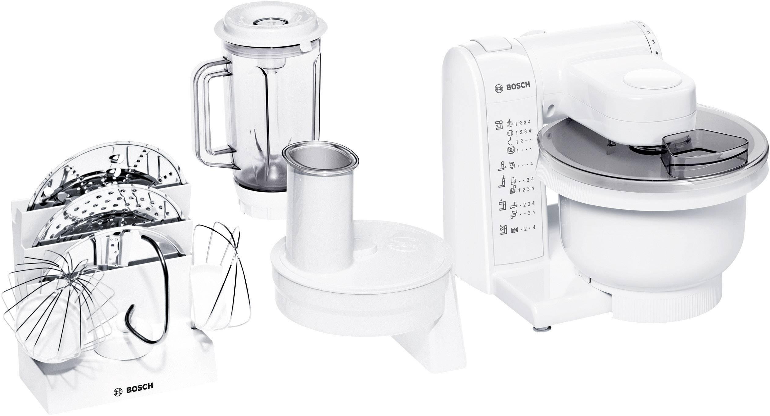 Bosch Haushalt MUM 4830 Robot da cucina 600 W Bianco | Conrad.it