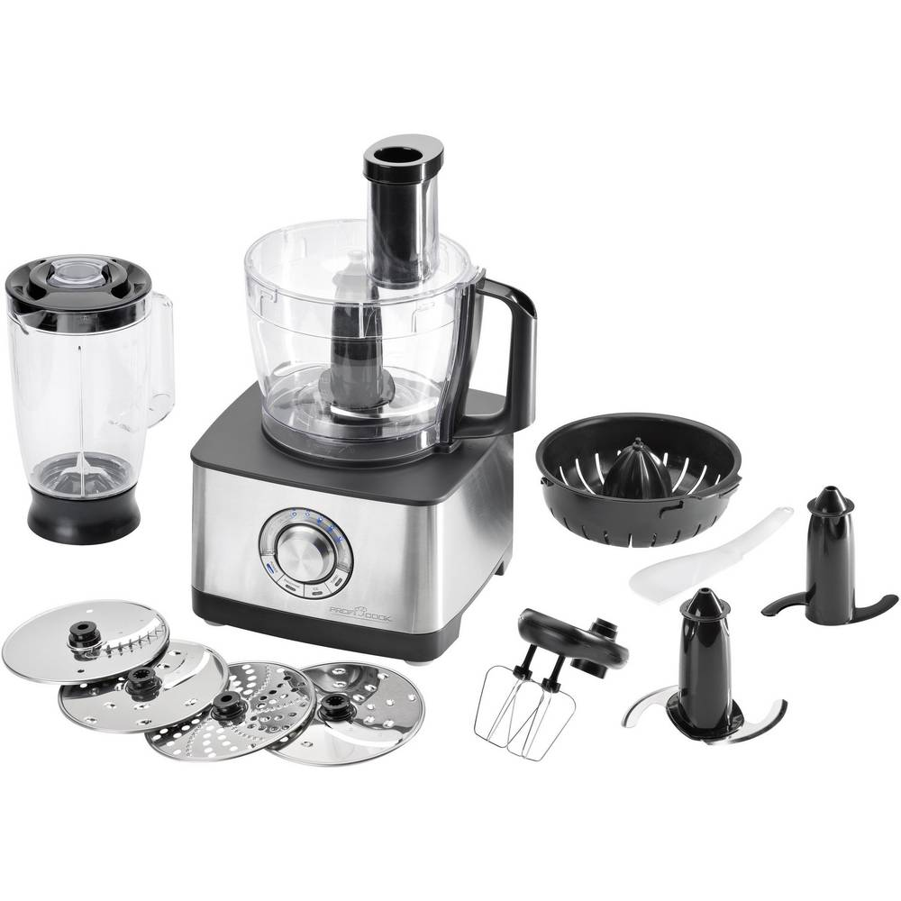 Robot da cucina Profi Cook PC-KM 1025 1200 W Acciaio inox (lucido ...