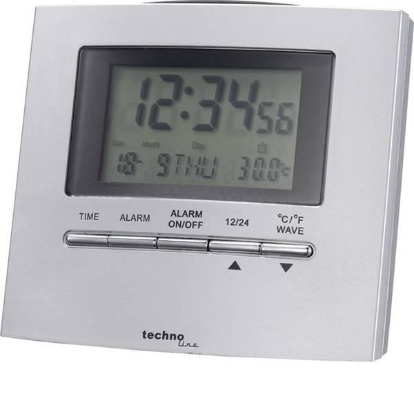 Sveglie - Techno Line WT250 Radiocontrollato Sveglia Argento Tempi di allarme 1 -