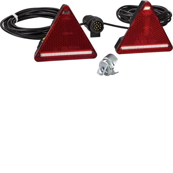 Illuminazione per rimorchi - Kit illuminazione LED 7/13 poli posteriore, destra, sinistra 12 V, 24 V SecoRüt -