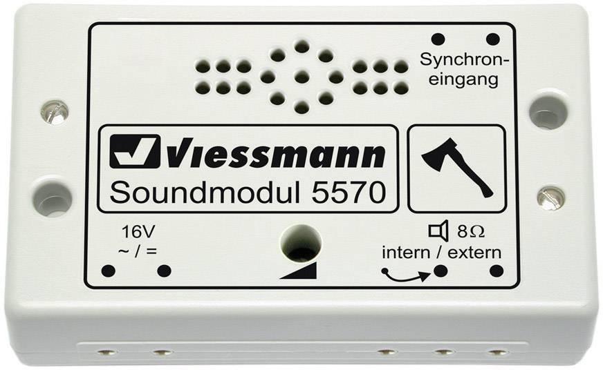 AssemblatoConrad Viessmann 5570 Modulo Sonoro Taglialegna it dCoQBxeWr