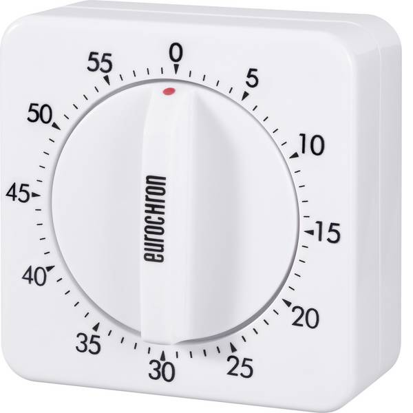 Timer - Eurochron EAT 6000 Timer Bianco meccanico -