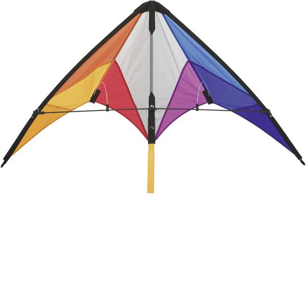 Aquiloni sportivi - Aquilone acrobatico HQ Calypso II Rainbow Larghezza estensione 1100 mm Intensità forza del vento 2 - 5 bft -