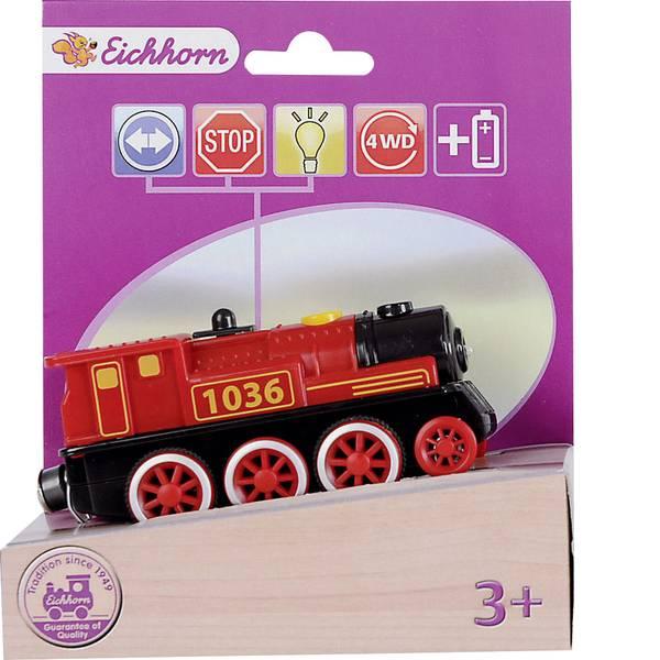 Treni e ferrovie in legno - Ferrovia di legno Eichhorn Locomotiva a vapore 100001303 -