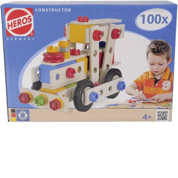 Giocattoli da costruire - Kit pezzi per costruzioni Heros Constructor Numero parti: 100 Numero modelli: 6 Classe di età: da 4 anni -