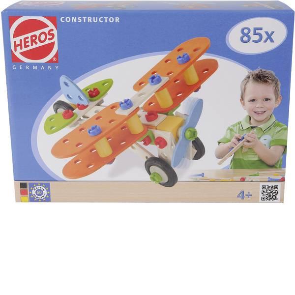 Giocattoli da costruire - Kit pezzi per costruzioni Heros Constructor Numero parti: 85 Numero modelli: 4 Classe di età: da 4 anni -