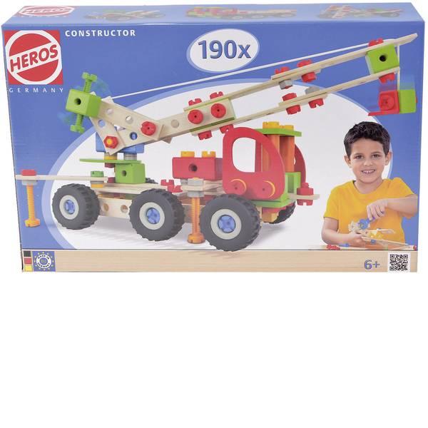 Giocattoli da costruire - Kit pezzi per costruzioni Heros Constructor Numero parti: 190 Numero modelli: 7 Classe di età: da 6 anni -