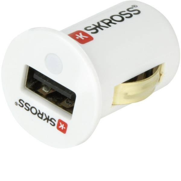 Accessori per presa accendisigari - Skross Adattatore per presa accendisigari midget USB Car Charger 2,1 A Portata massima corrente=2.1 A Adatto per  -