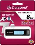 Chiavetta USB Jetflash 760 8 GB di Transcend