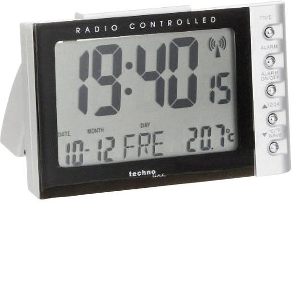 Sveglie - Techno Line WT 188 Radiocontrollato Sveglia Argento, Nero Tempi di allarme 1 -