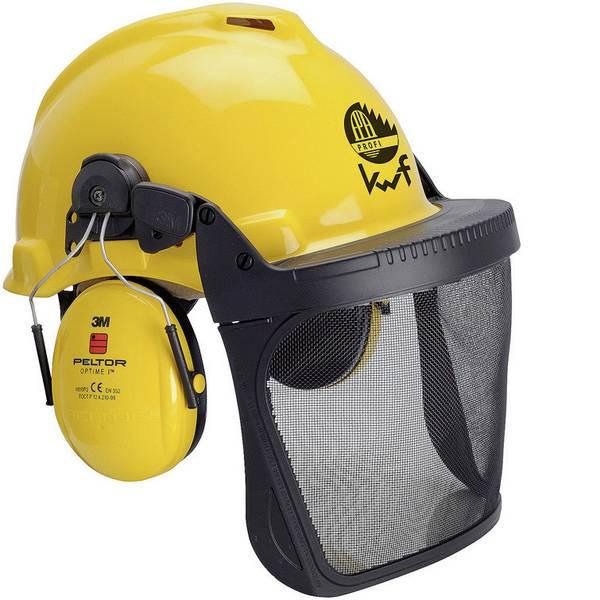 Caschi di protezione - 3M XA007707301 Elmetto forestale G22D Giallo 1 KIT -