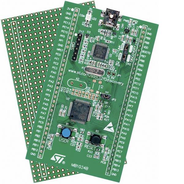 Kit e schede microcontroller MCU - STMicroelectronics Scheda di sviluppo STM32F0DISCOVERY STM32 F0 Series -
