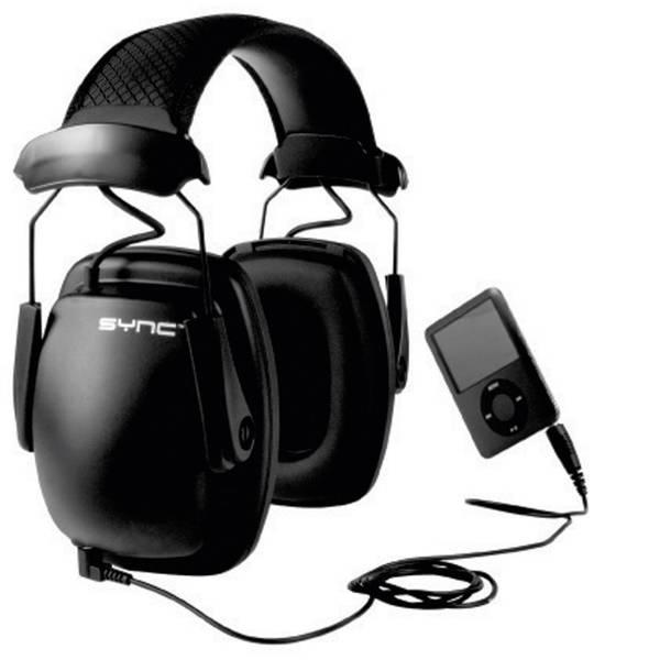 Cuffie da lavoro - Howard Leight Sync Stereo 1030111 Cuffia antirumore passiva 31 dB 1 pz. -