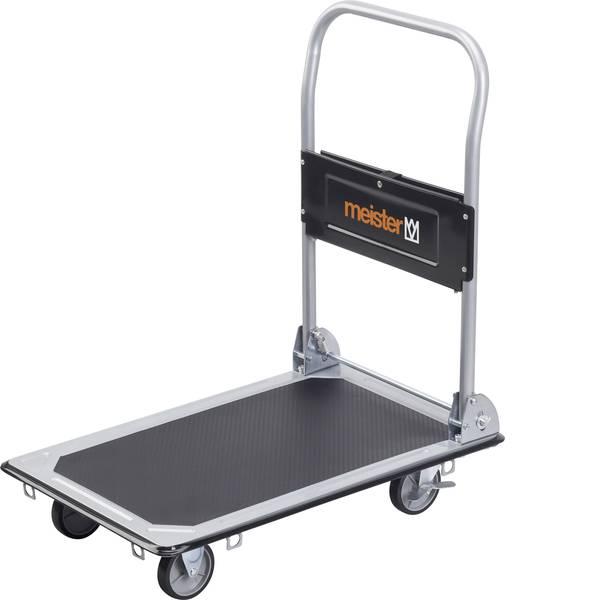 Carrelli con pianale - Carrello con pianale pieghevole, con vano portaoggetti Acciaio Capacità di carico (max.): 150 kg Meister Werkzeuge  -