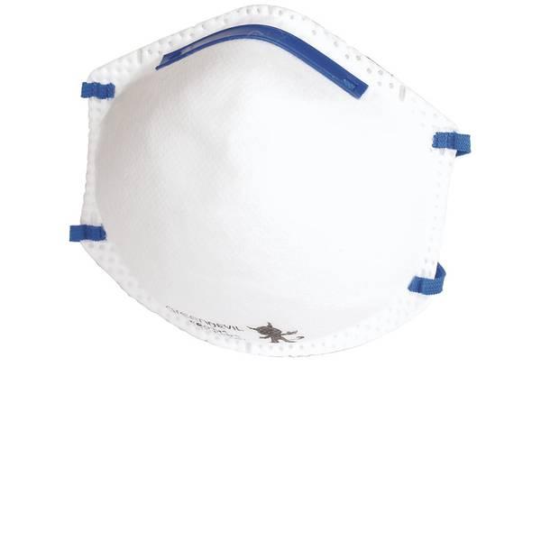 Maschere per polveri fini - Wolfcraft 4836000 Mascherina antipolvere senza valvola FFP2 3 pz. -