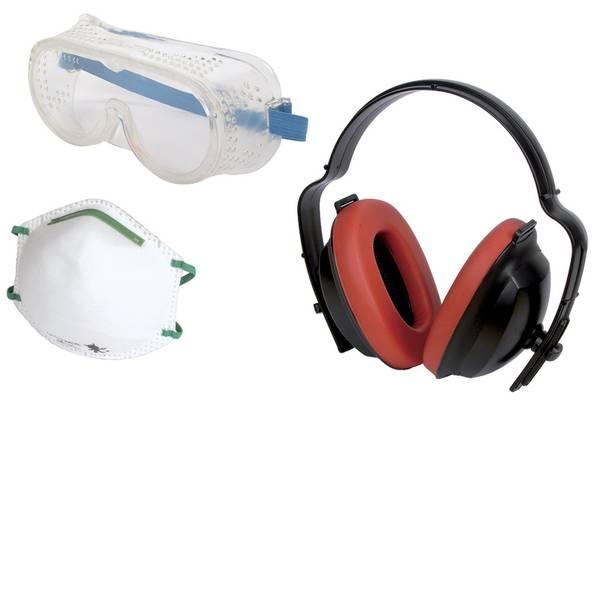 Cuffie da lavoro - Wolfcraft 1 Work safety kit 4871000 Cuffia antirumore passiva 1 pz. -