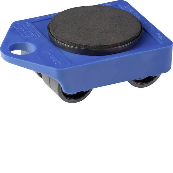 Carrelli e pianali di trasporto - Piattaforma con ruote Plastica Capacità di carico (max.): 150 kg Meister Werkzeuge 0820009 -