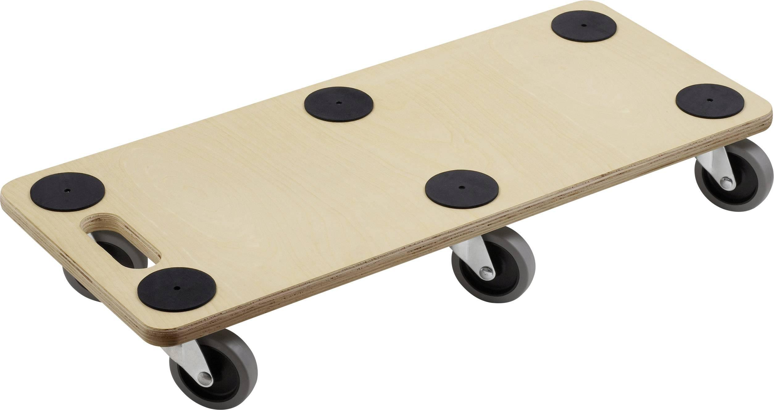 Piattaforma con ruote Legno Ca