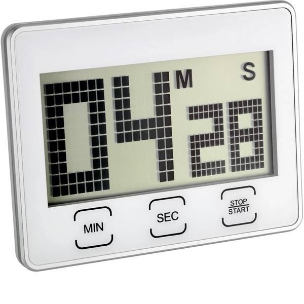 Timer - TFA 38.2027 Timer Argento digitale -