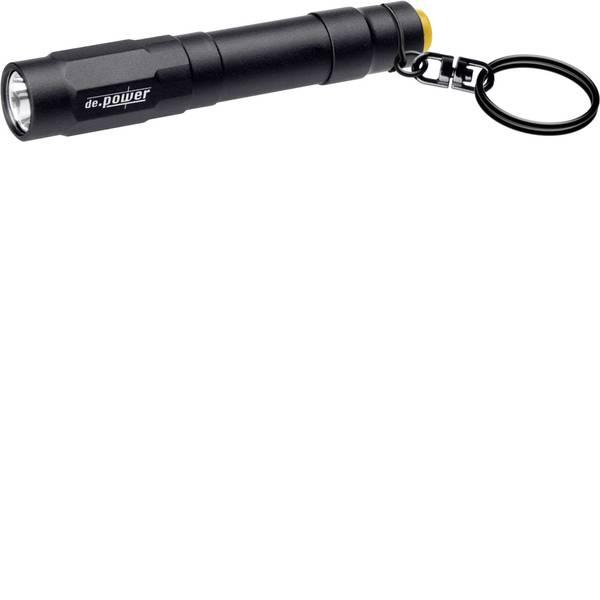 Torce tascabili - de.power by litexpress LED Mini torcia elettrica Portachiavi a batteria 0.45 h 38 g -