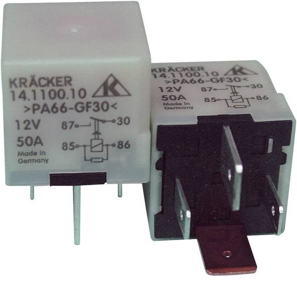 Relè auto - Kräcker 14.1100.10 Relè per auto 12 V/DC 40 A 1 NA -