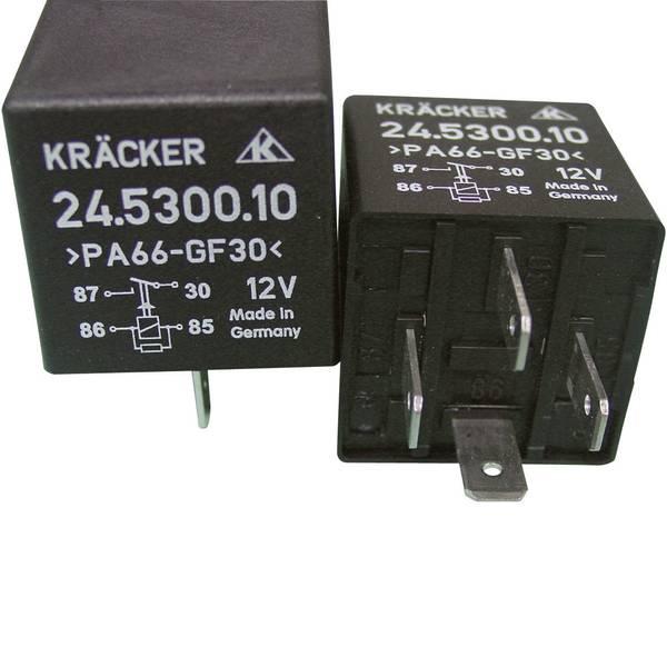 Relè auto - Relè per auto 12 V/DC 20 A 1 NA Kräcker 24.5300.10 -