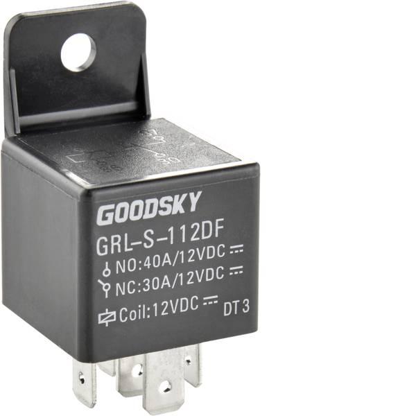 Relè auto - GoodSky GRL-S-112DF Relè per auto 12 V/DC 40 A 1 scambio -