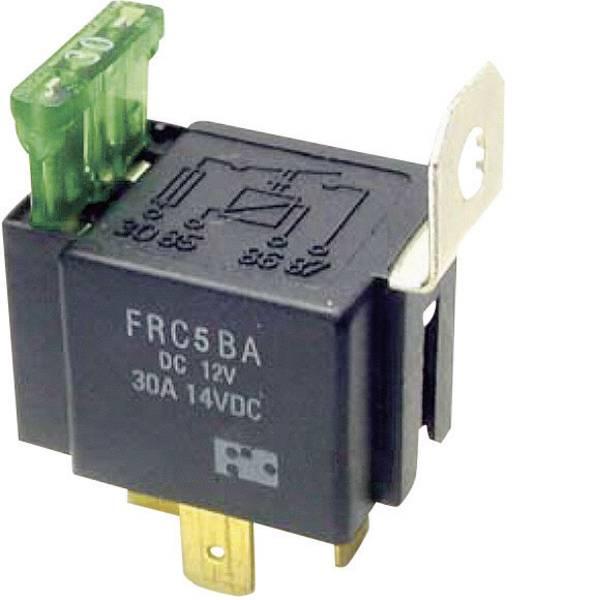 Relè auto - FiC FRC5BA-DC12V Relè per auto 12 V/DC 30 A 1 NA -