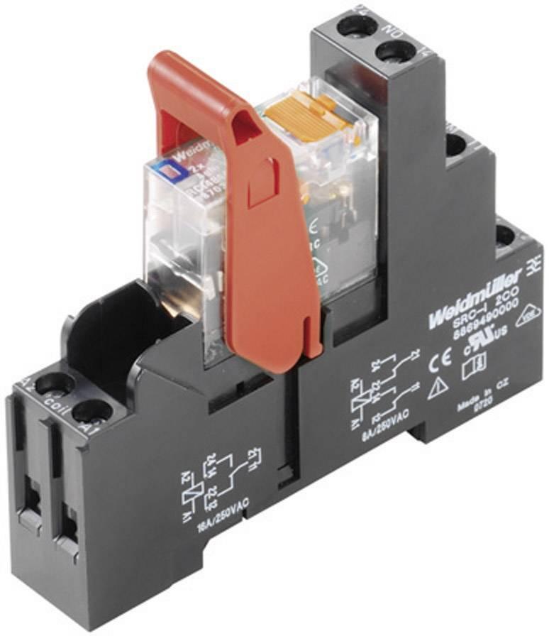 Accoppiatore relè RIDERSERIES WeidmüllerRCIKIT 230VAC 1CO LED1 contatto di commutazione16 A