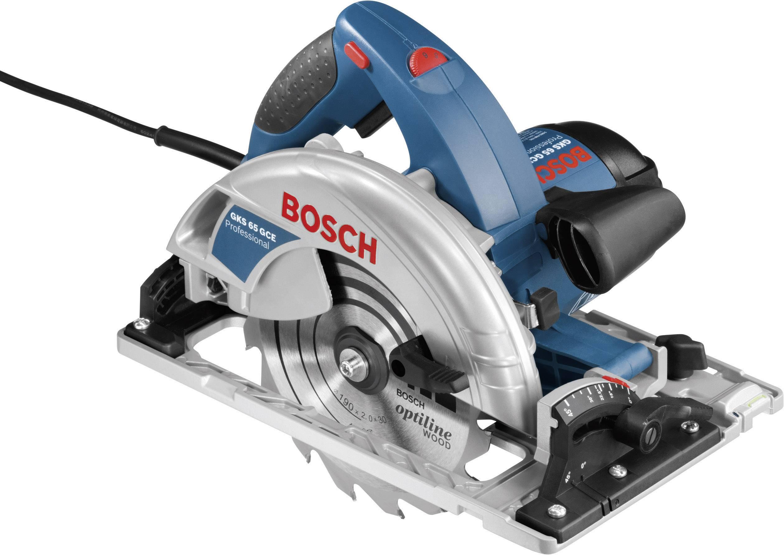 Sega circolare Bosch Professional GKS 65 GCE 190 mm 1800 W