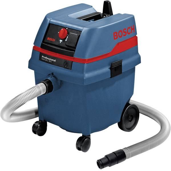 Bidoni aspiratutto - Bosch Professional GAS 25 L SFC 0601979103 Aspiratutto 1200 W 25 l Pulizia semi-automatica del filtro, Aspirazione per  -
