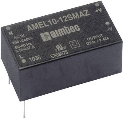 Alimentatore da circuito stampato AC / DC Aimtec AMEL10-3.315DMAZ 15 V/DC 0.9 A 8 W