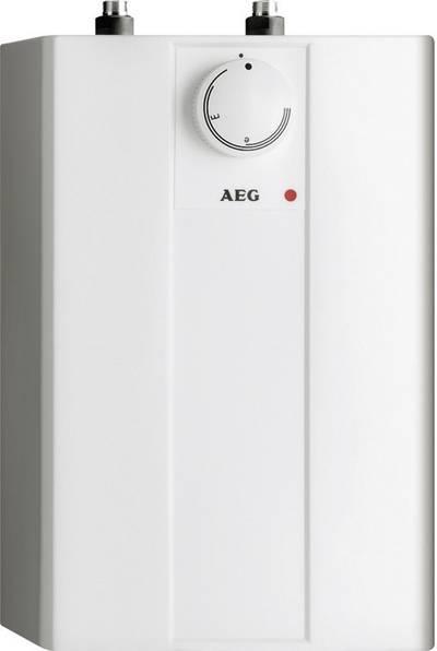Boiler scaldacqua con serbatoio 5 l 10 l/min 35 fino a 85 °C AEG Haustechnik Huz 5 Basis A 229287 con due maniglie - Ba