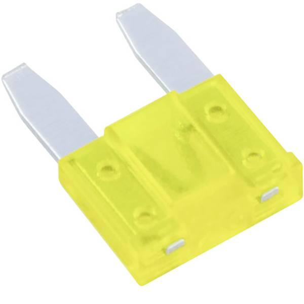 Fusibili per auto - Mini fusibile piatto 20 A Giallo MTA 341631 534990 1 pz. -