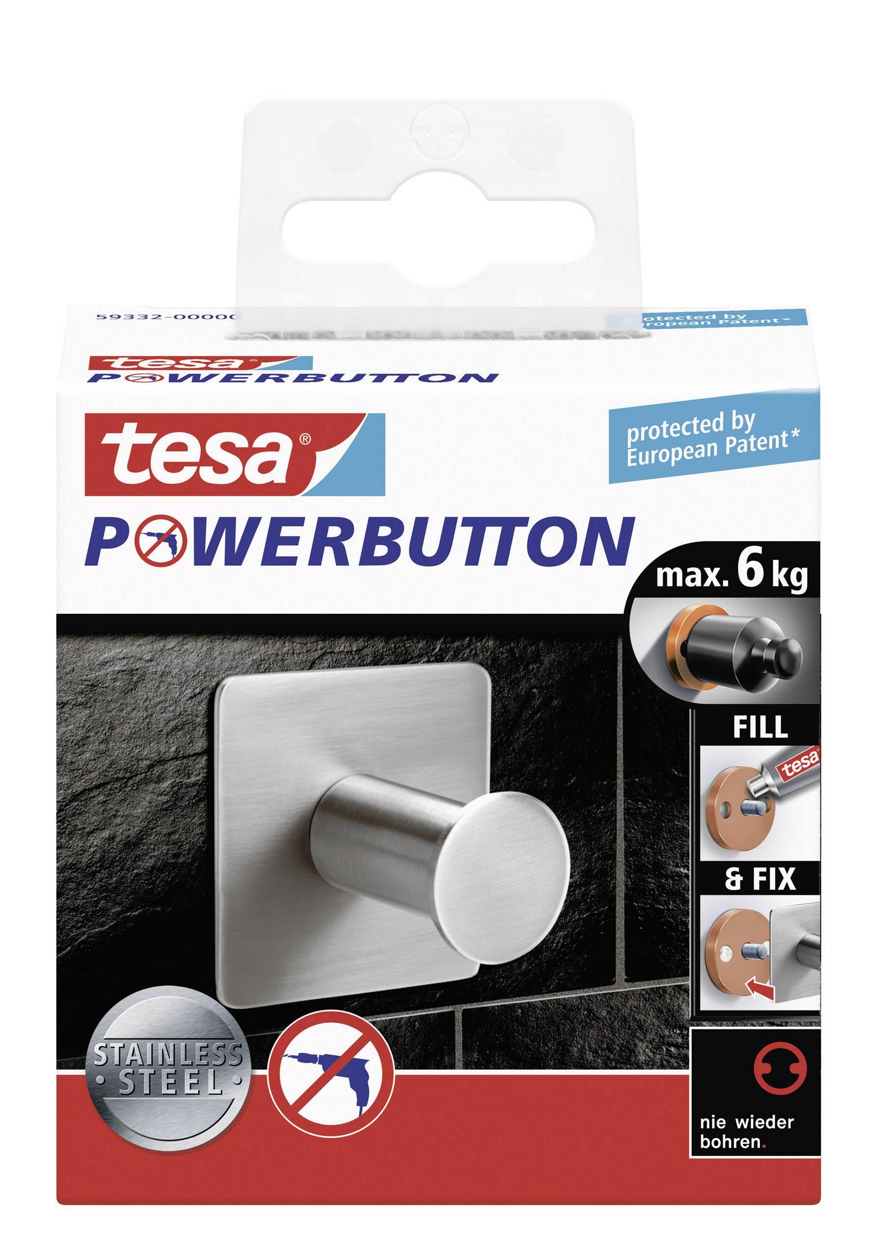tesa®, gancio con adesivo Pow