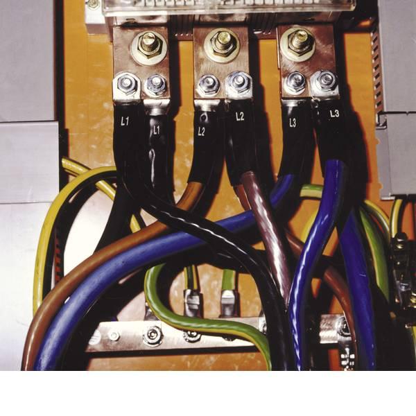 Marcature di conduttori - Set di tubi termoretraibili per identificazione di fase SR2LK 25-70 Nero CellPack Contenuto: 1 Conf. -
