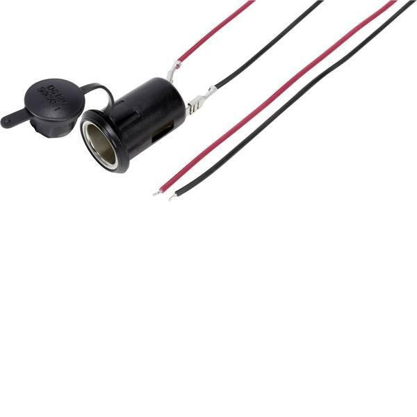 Accessori per presa accendisigari - TRU COMPONENTS Presa da auto con cappuccio di protezione Portata massima corrente=10 A -