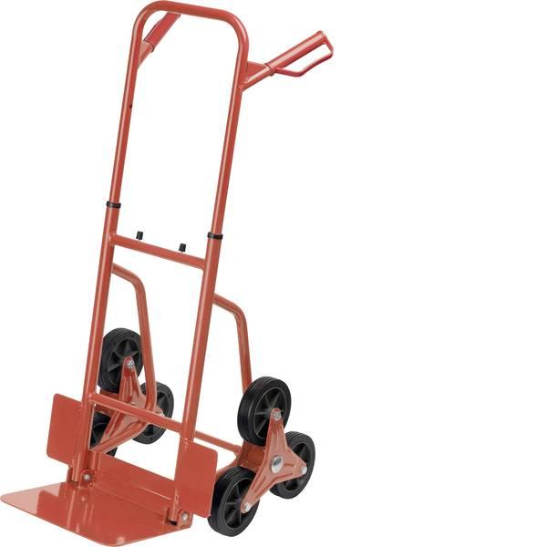 Carrelli per sacchi - Carrello per scale pieghevole Acciaio Capacità di carico (max.): 120 kg Meister Werkzeuge 8985750 -